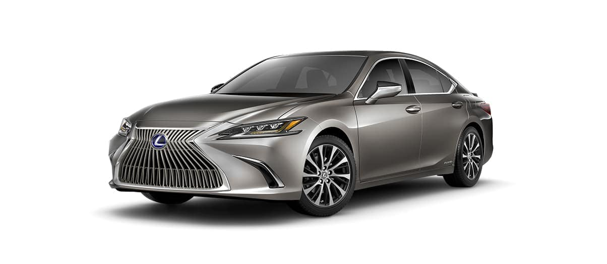 2019 Lexus ES 300h in Atomic Silver