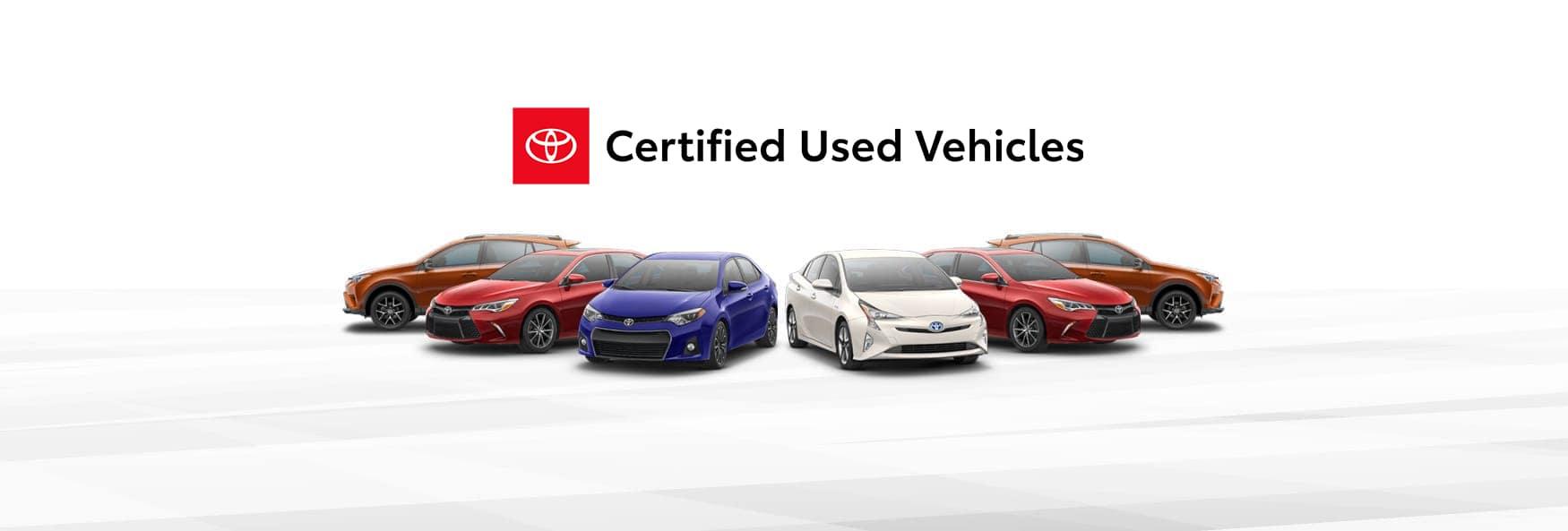 Toyota CPO Vehicles