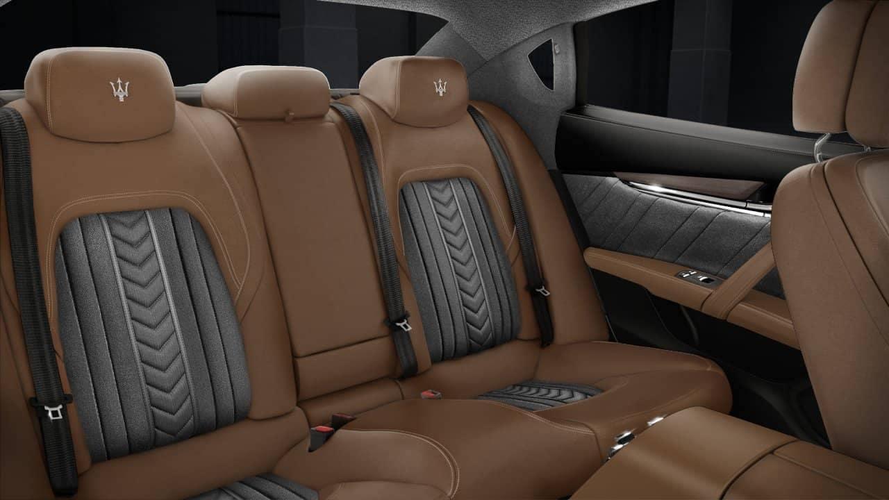 Quattroporte GranLusso Back Interior