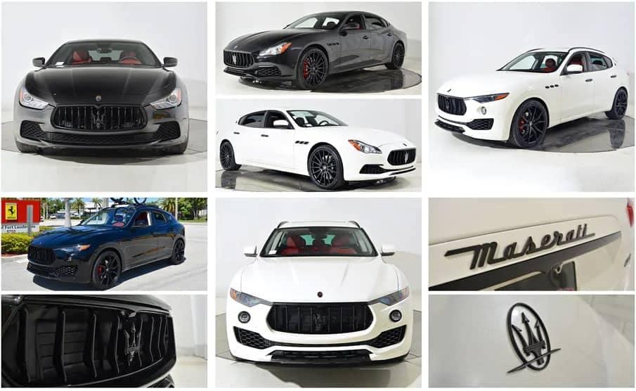 Maserati Back in Black