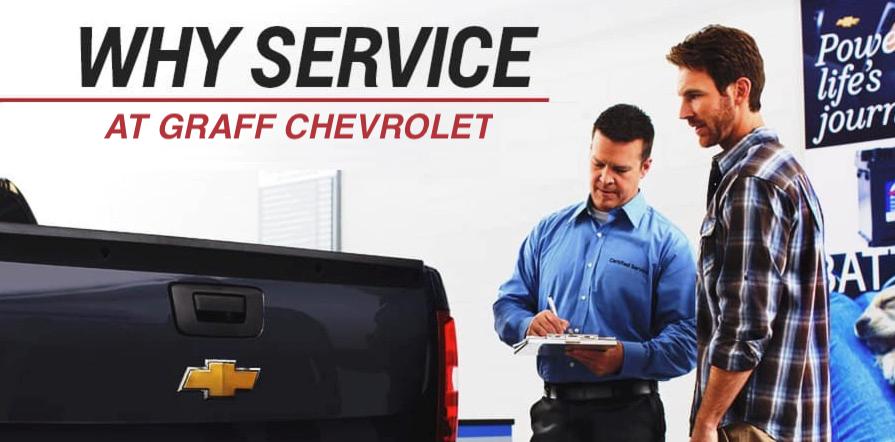 Why Service at Graff Chevrolet in Grand Prairie, TX