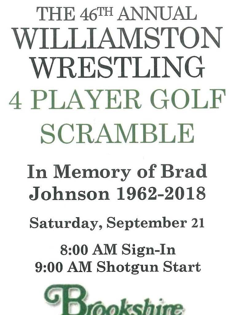 Williamston Wrestlig Golf Scramble x1024