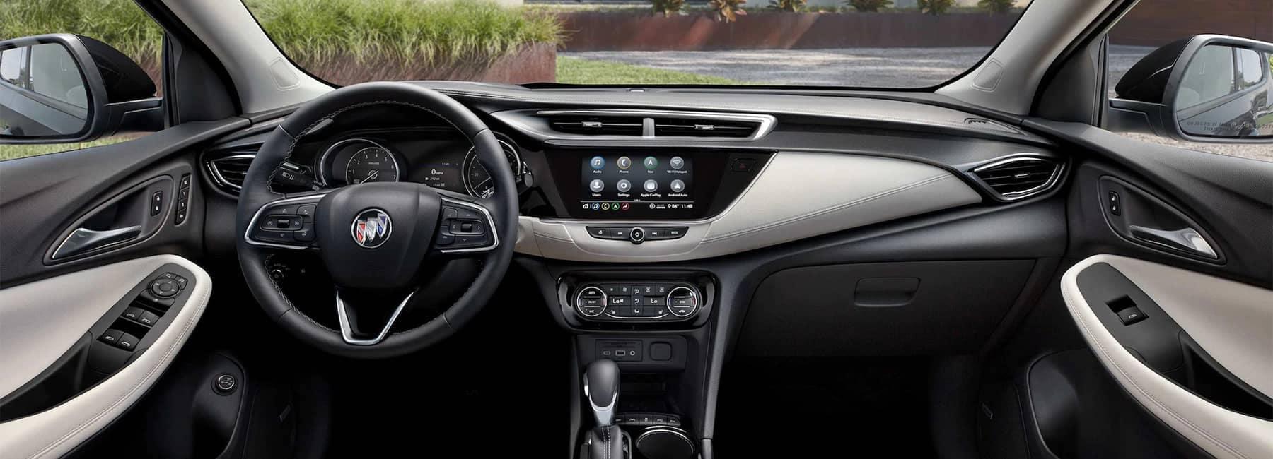 2020 Buick Encore GX Small SUV steering wheel driver seat