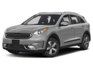 Angled view of the Kia Niro Plug-In Hybrid