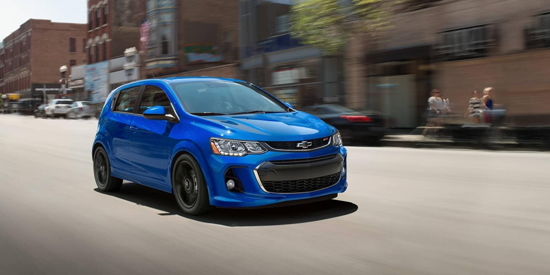 Blue Spark driving