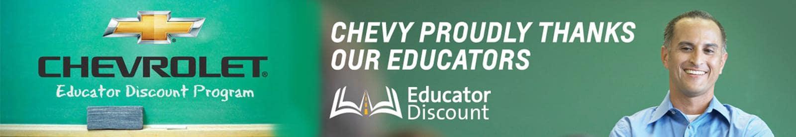 Educator Discount banner