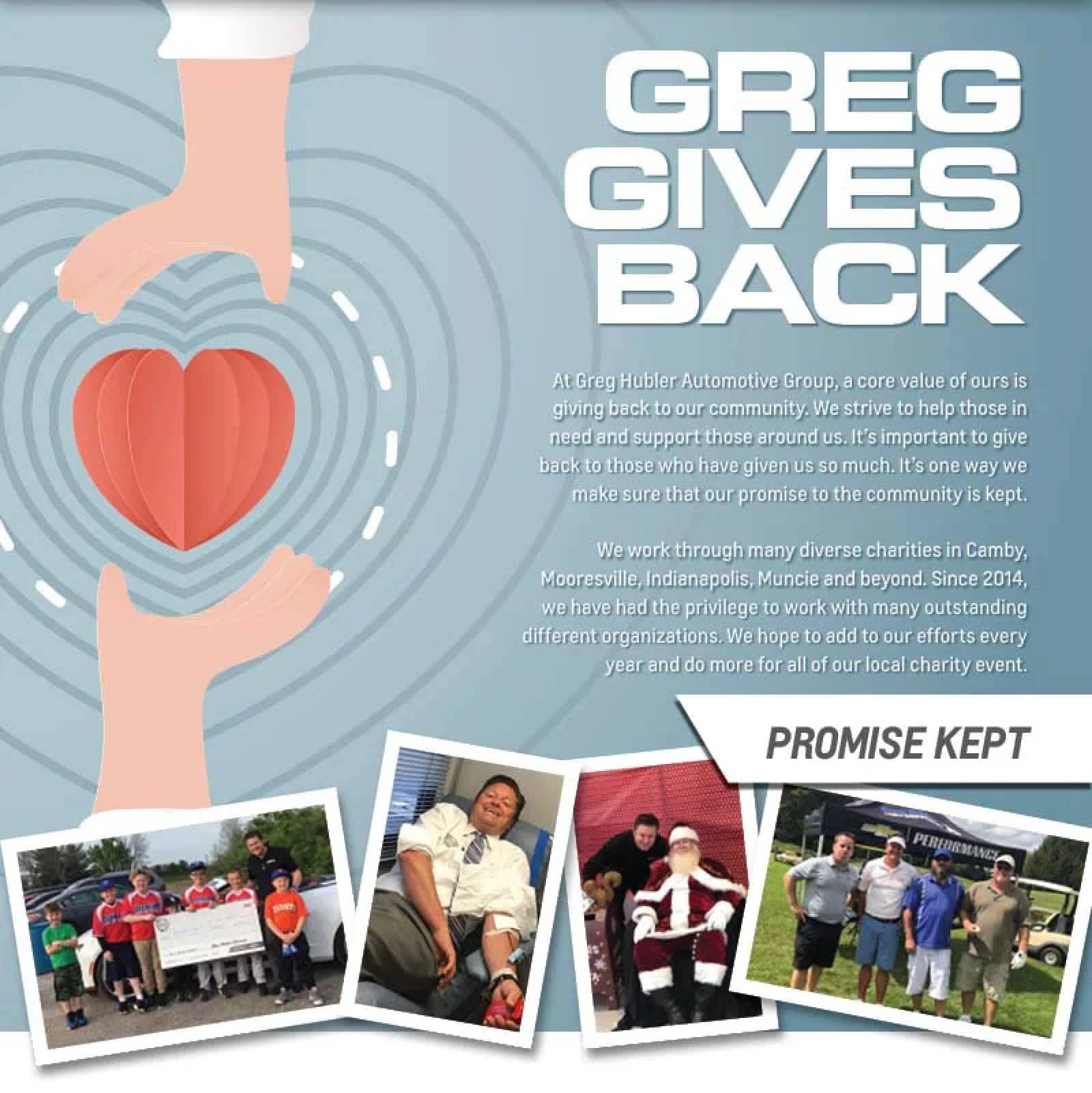 Greg Hubler Ford Gives Back