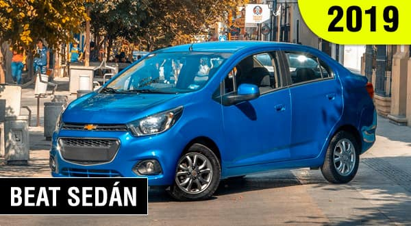 chevrolet beat sedán 2019