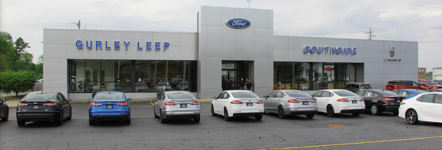Front view of Gurley Leep Ford