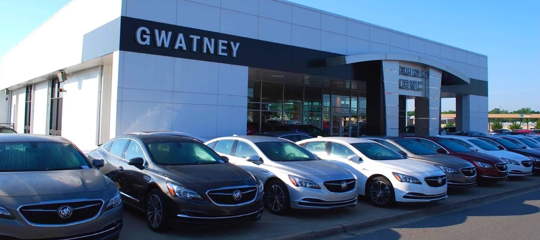 Gwatney Dealership viewed from the front