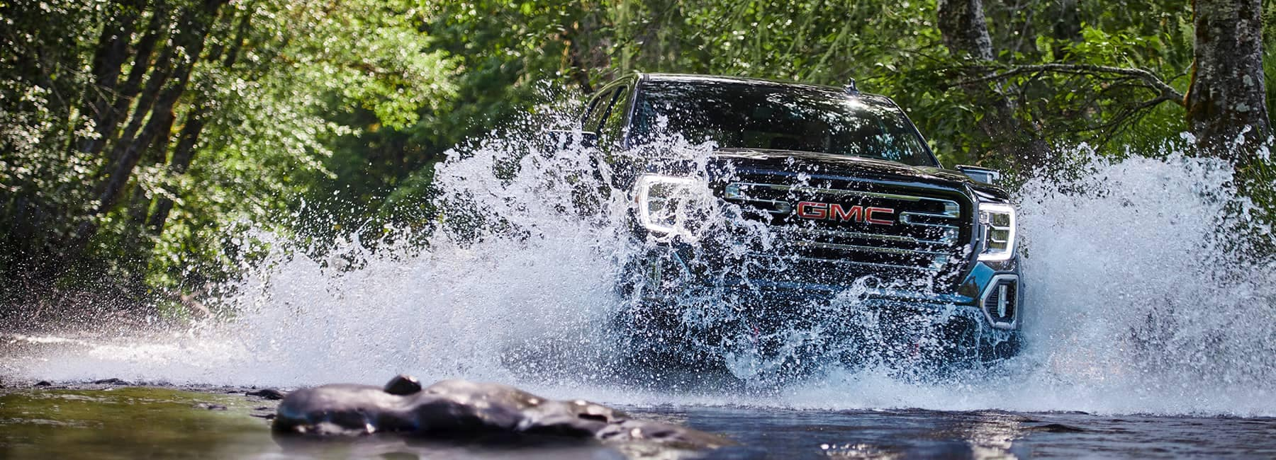 2020 GMC Sierra 1500 Crossing a River