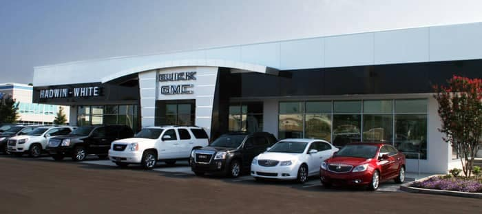 Image of Hadwin-White Dealership during the day