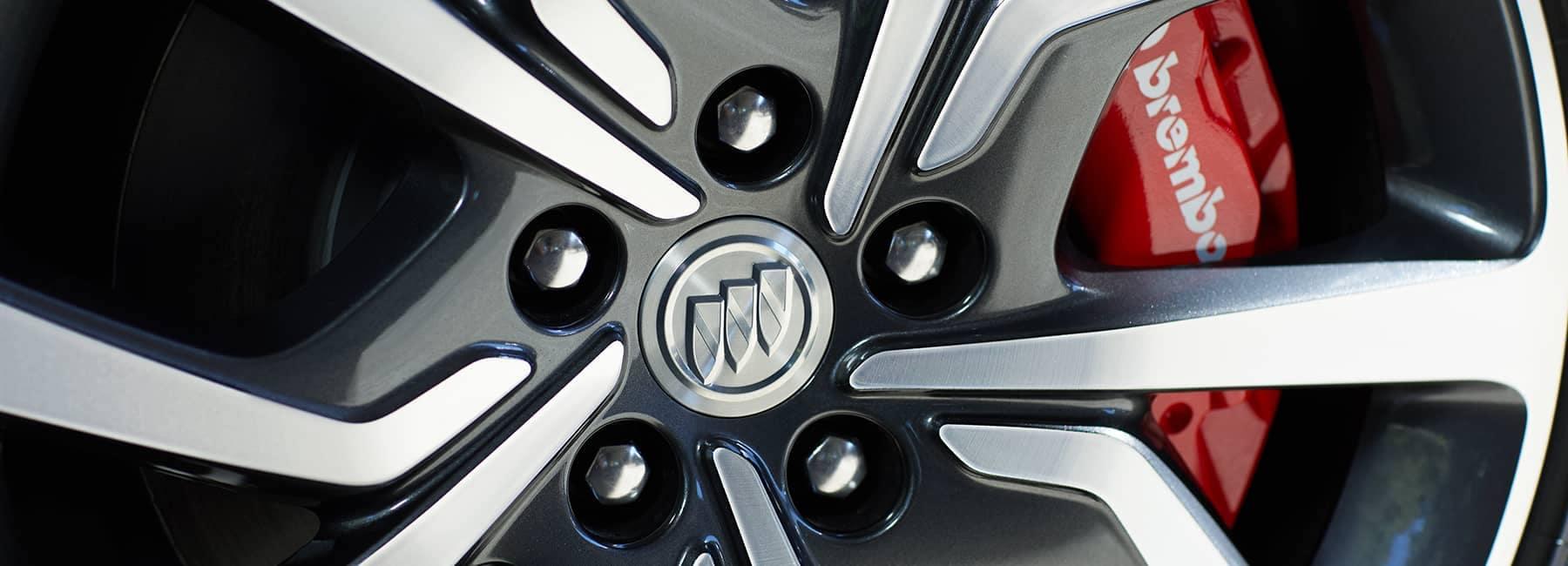 Buick Banner Image - 2020 Buick Regal Sportback Tire Rim Closeup