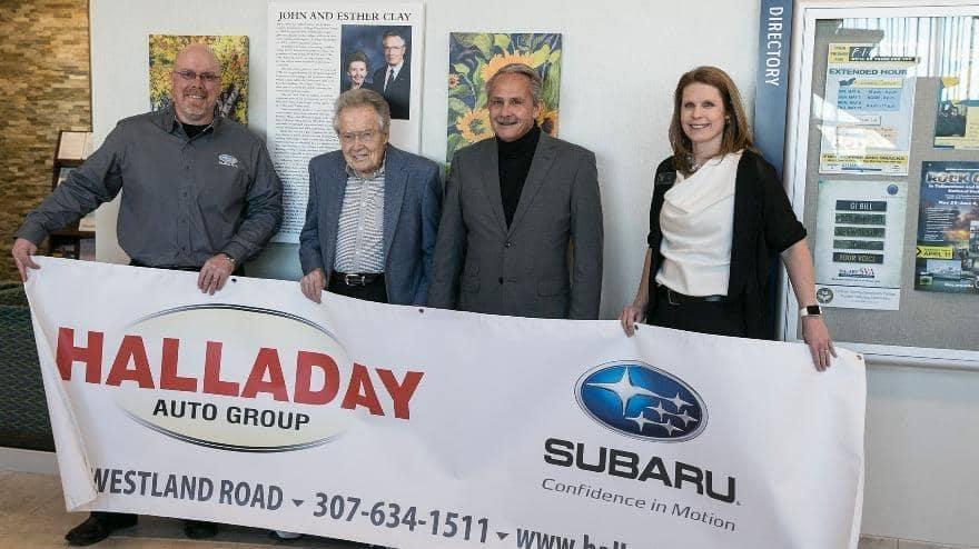 Halladay Buick GMC - Community Involvement - John Clay Scholarship