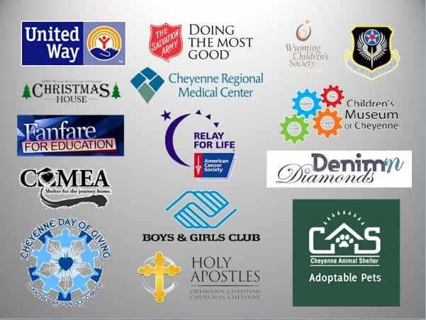 Halladay Buick GMC - Community Involvement - partner organizations