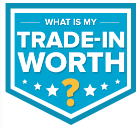 What is my Trade-in worth badge
