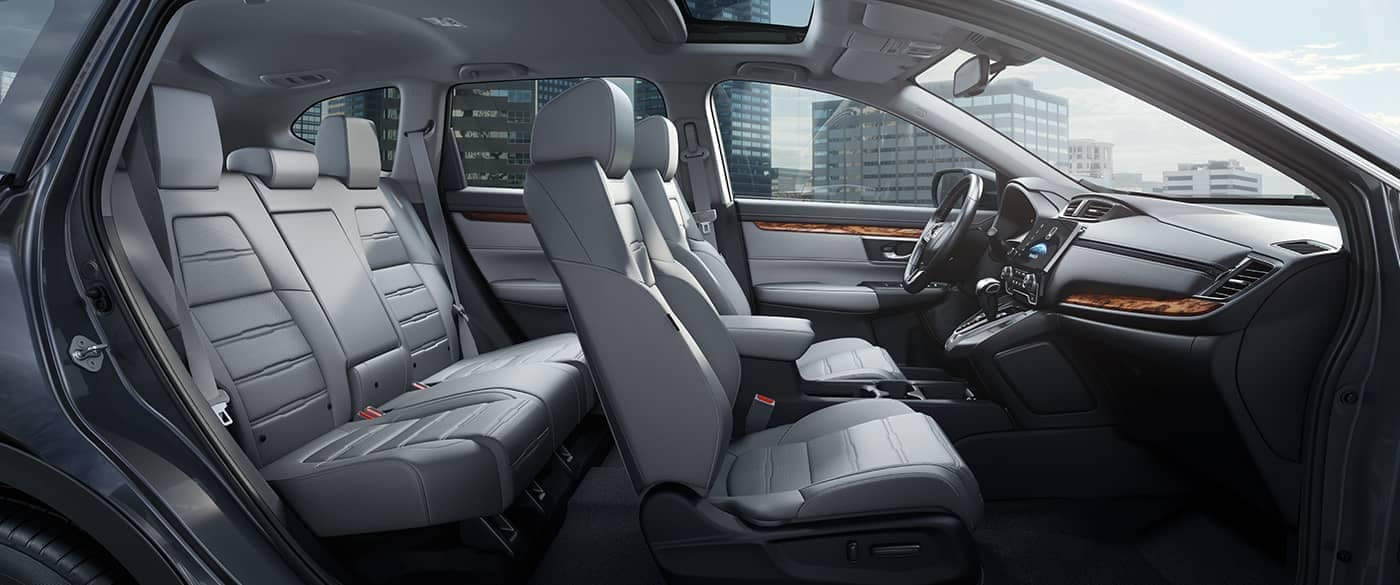 Side profile view of 2018 Honda CR-V Interior
