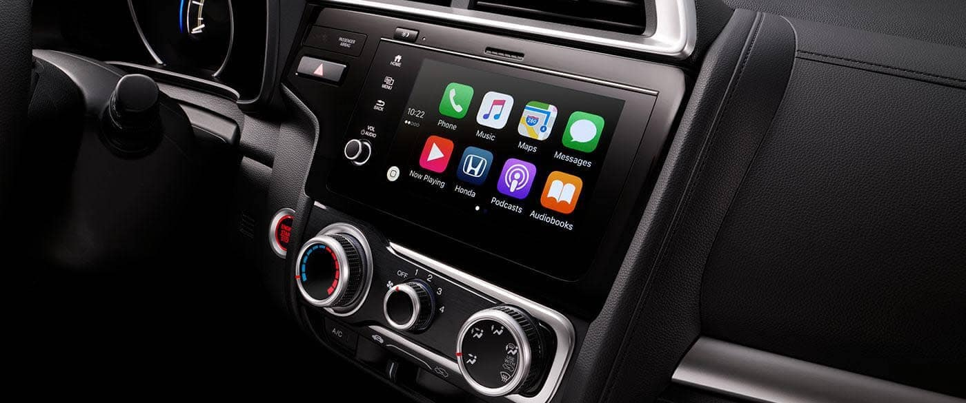 2019 Honda Fit Apple Carplay