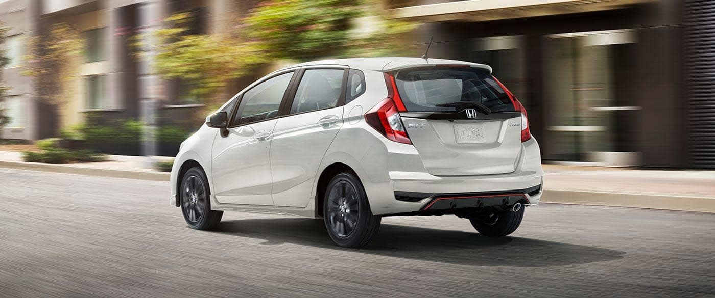 2019 Honda Fit Sport Exterior View Driving
