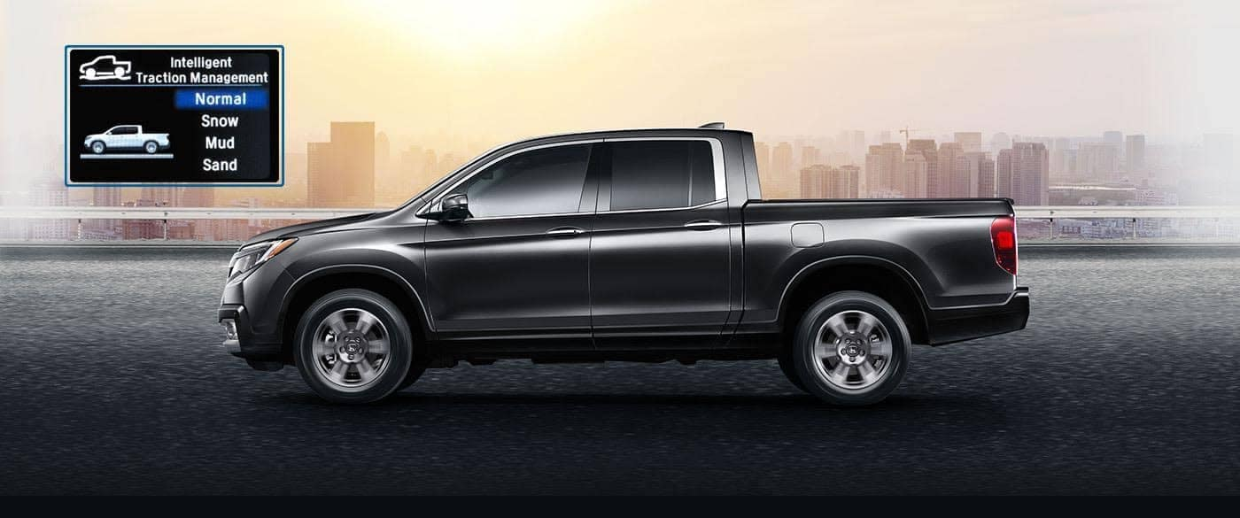 2019 Honda Ridgeline AWD Traction Management