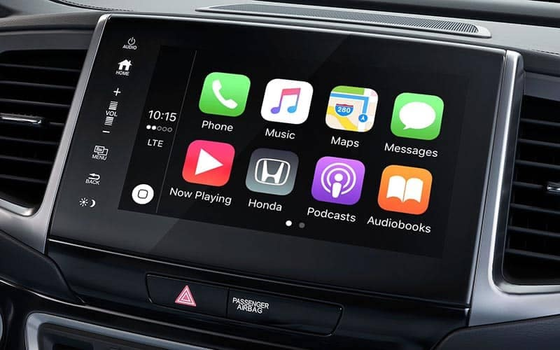 2019 Honda Ridgeline Apple Carplay
