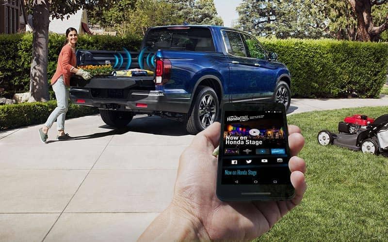 2019 Honda Ridgeline In Bed Stereo System