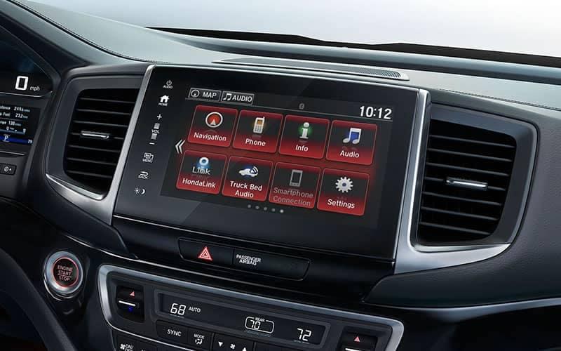 2019 Honda Ridgeline Black Edition Display Screen
