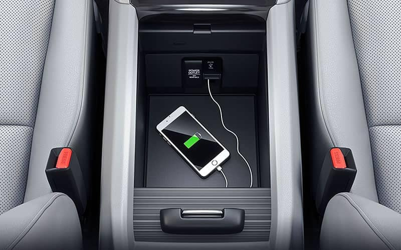 2019 Honda Ridgeline Phone USB Center Console