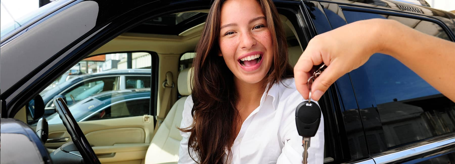 banner image - Woman with Car Keys