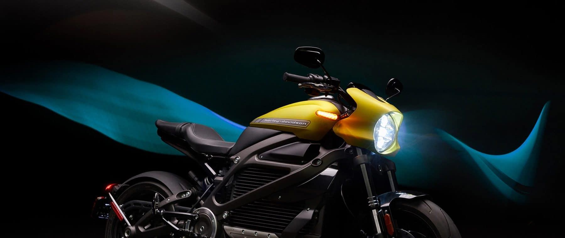 Yellow Livewire Motorcycle