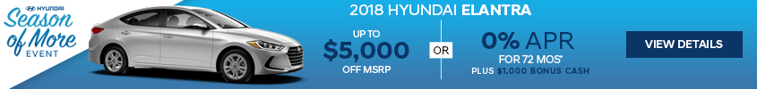 Haselwood Hyundai Elantra Lease Offer