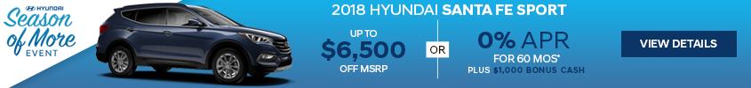 Haselwood Hyundai Santa Fe Special Offer