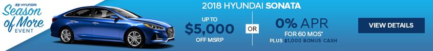 Haselwood Hyundai Sonata Special Offer