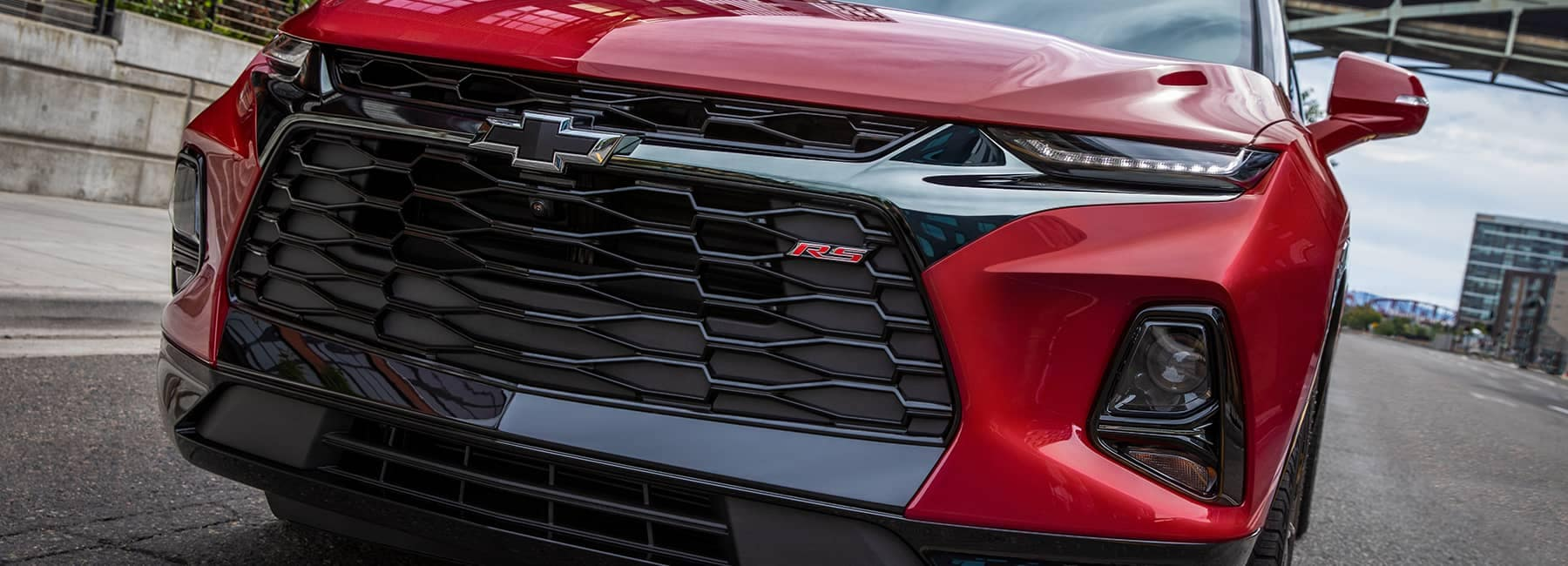 Red 2020 Blazer Front Grille