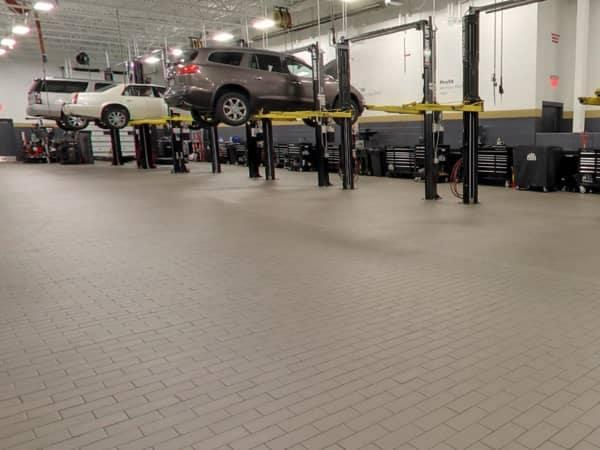 Hendrick Cadillac Cary Service Department Interior