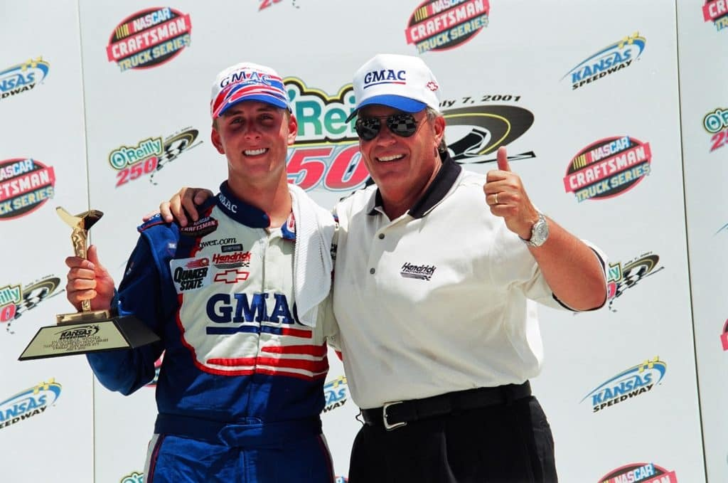 Ricky and Rick Hendrick