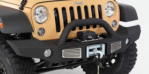 Hendrick Custom Jeep front detail