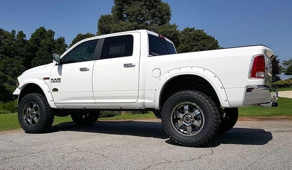 Custom Ram 1500 white