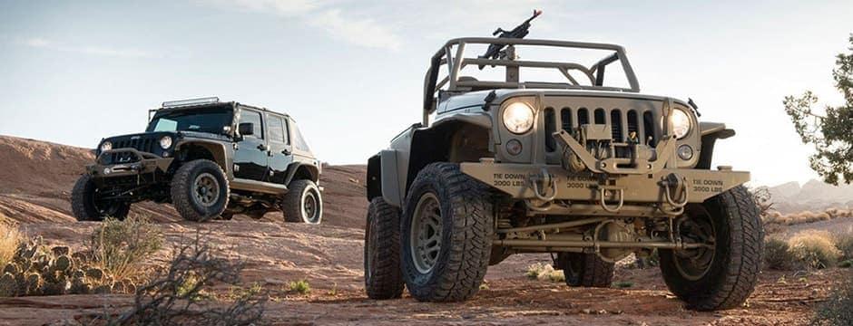 Custom Jeep military