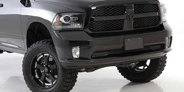 Hendrick CustomTruck black wheels