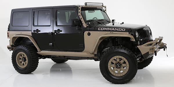 Hendrick Custom Jeep Commando indoors model