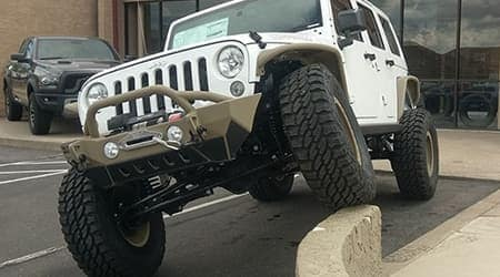 Custom Jeep driving 4