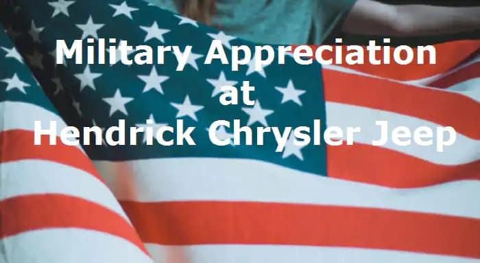 Hendrick Military Banner