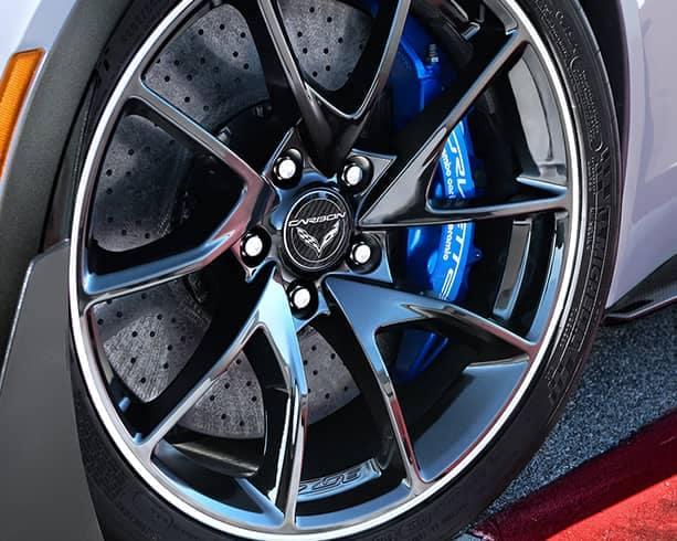 Corvette brakes