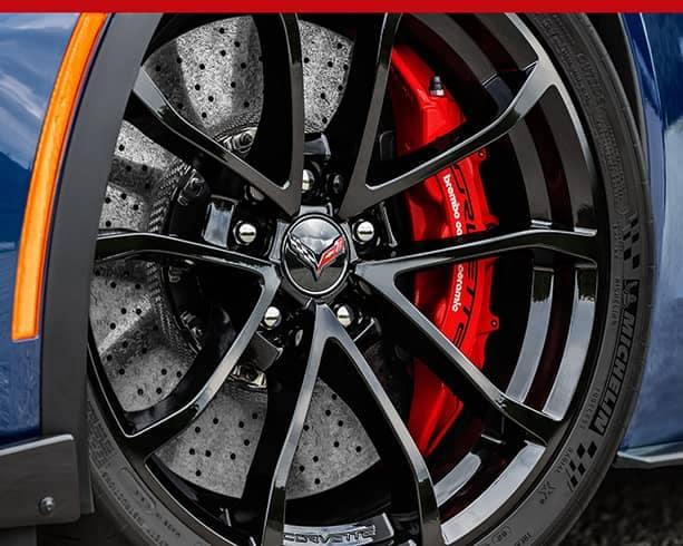 Corvette custom wheels