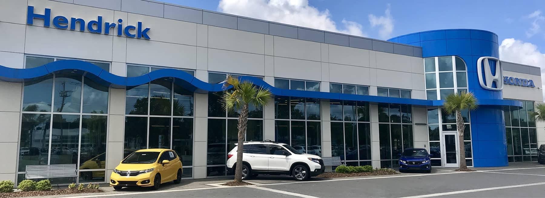 Hendrick Honda of Charleston - exterior of dealership