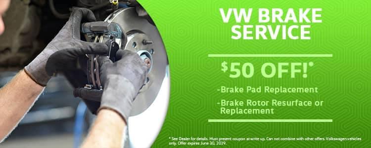 VW Brake Service