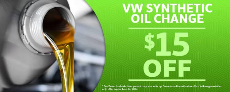 VW Synthetic Oil Change