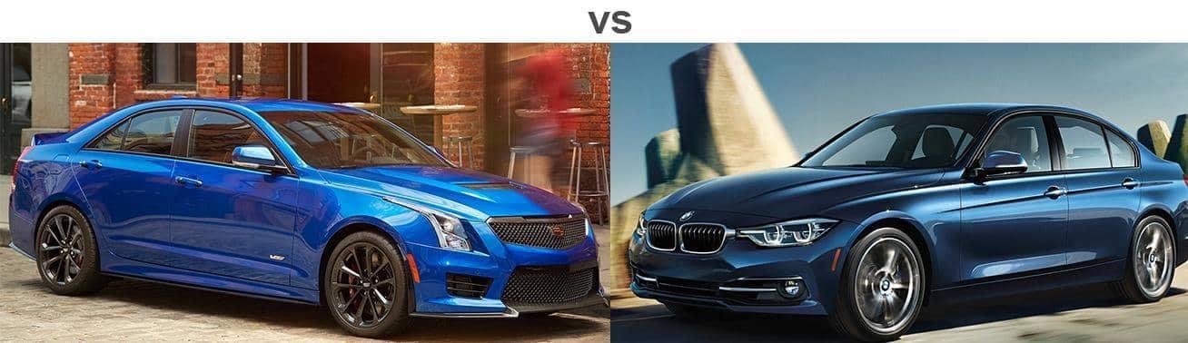 2018 CADILLAC ATS VS. 2018 BMW 3 SERIES