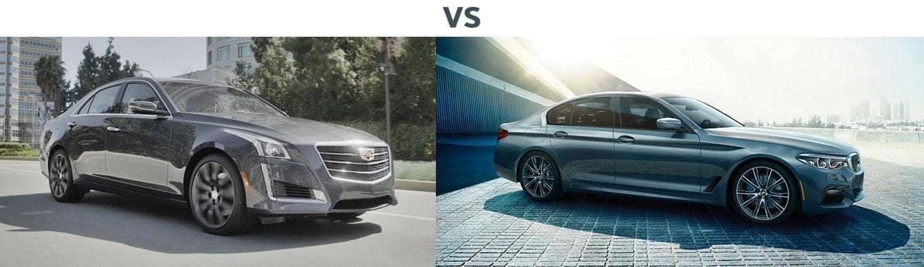 2018 CADILLAC CTS VS. 2018 BMW 5 SERIES